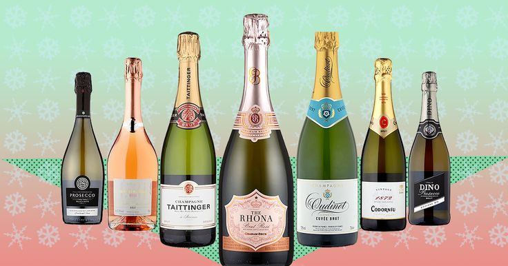 It isn't Christmas without a bit of fizz.