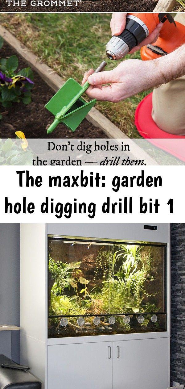 The Maxbit Garden Hole Digging Drill Bit Home Garden