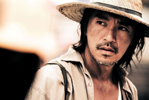 stephen chow from Shaolin Soccer and Kung Fu Hustle