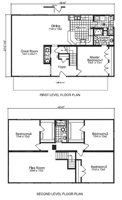1000 ideas about modular home floor plans on pinterest for Mobile home layouts and prices