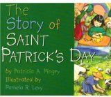 The Story of Saint Patrick's Day -The story begins with the traditional symbols of the day that are often found in schoolrooms, such as shamrocks, harps, and leprechauns. Then the narrative moves to a short biography of Saint Patrick himself: as a shepherd, as a missionary, and as a teacher. This colorfull boardbook ties together the live of Patrick with the traditional images of Ireland. #books