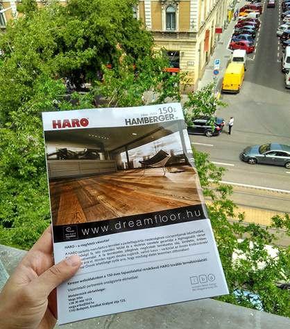 HARO padló 150 éves évfordulója - Nagyon vártuk milyen lesz a HARO megjelenésünk a GERENDAHÁZAK című népszerű magazinba. A minap ezt a csodás képet kaptuk. Nagyszerűen tükrözi a HARO padló egyéniségét, stílusát. Nektek hogy tetszik?  Már kapható az újságárusoknál! :)  www.dreamfloor.hu