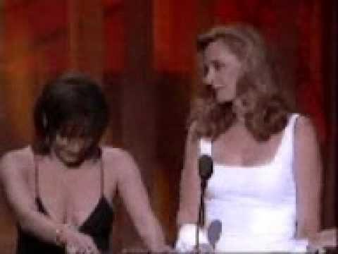 Marina Sirtis & Gates McFadden - 1995 ITV Movie Awards