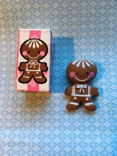 Vintage-Avon-2-034-Gingerbread-Pin-Pal-Fragrance-Glace-New-In-Box