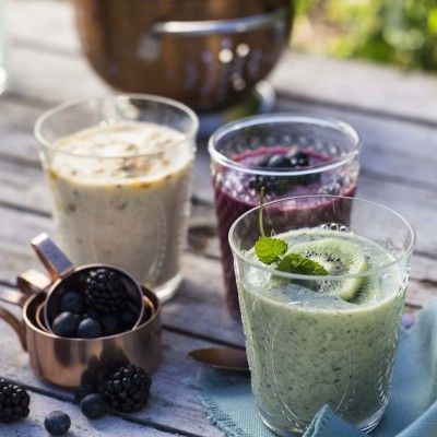 Taste Mag   Breakfast smoothies @ https://taste.co.za/recipes/breakfast-smoothies/