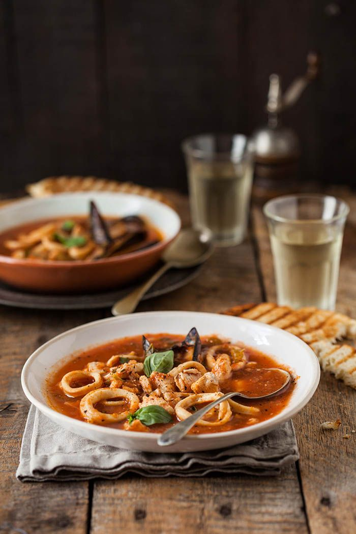zupppa di pesce - a hearty seafood stew | Drizzle and Dip