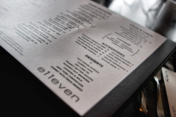 e11even is MLSE's masterpiece modern take on classic food located in downtown Toronto, Ontario