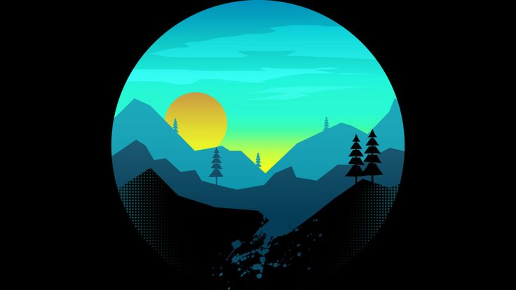 Sunrise on the mountain t-shirt for you who love and enjoy nature so much.