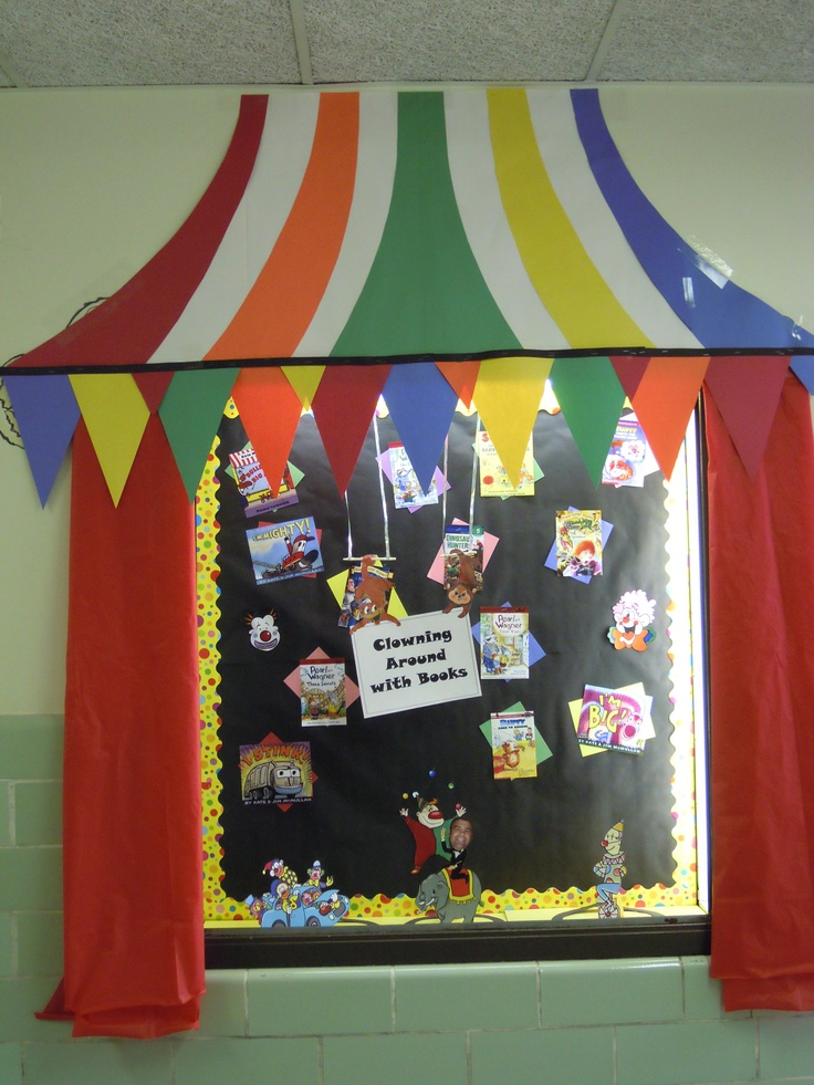 Classroom Launch Ideas ~ Best ideas about circus bulletin boards on pinterest