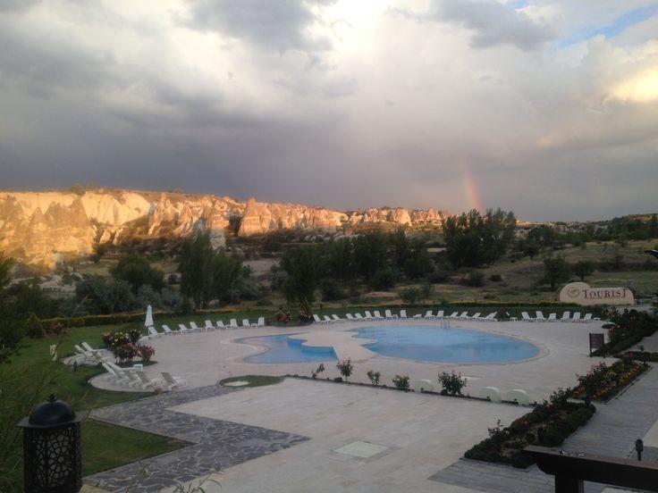 Storm over Cappadocia.