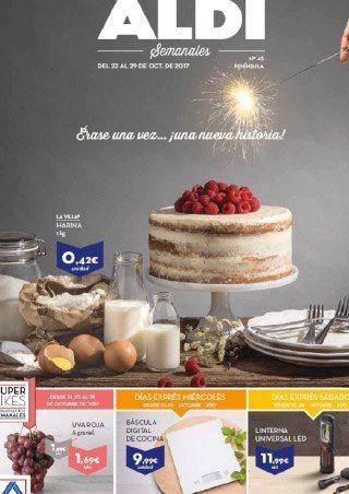Catálogo ALDI del 23 al 29 Octubre -  Nuevo folleto con ofertas válido del23 al 29 Octubre de 2017. Día exprés Miércoles 25 de Octubre, báscula digital de cocina por 9,99€ Día Exprés sábado desde el 28 de Octubre, linterna universal Led por11,99€ Folleto Aldi online    #CatálogosAldi, #Catálogosonline   Ver en la web : https://ofertassupermercados.es/catalogo-aldi-del-23-al-29-octubre/