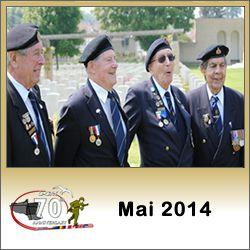 Programme des commémorations du débarquement de Normandie en mai 2014