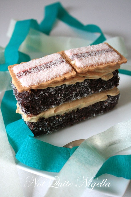 68 best australia day images on pinterest kitchens australian lamington tiramisu aka lamingtonmisu for australia day aussie foodaustralian foodaustralian recipesbbq ideasparty forumfinder