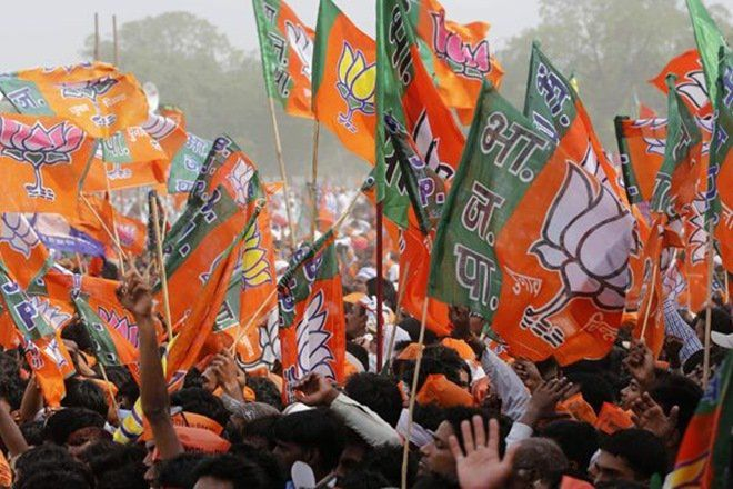 The exit polls today predicted a hung assembly in the key Hindi heartland state of Uttar Pradesh where BJP would emerge as the largest single party, winning anywhere between 164 and 210 of the 403 seats.
