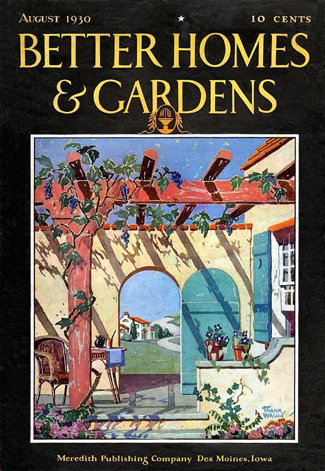 223 best artfully deco home and garden magazine covers for Garden design 1930