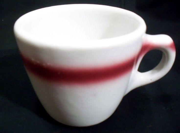 Tepco Pottery China Maroon Stripe Restaurant Dinner Ware Coffee Mug U.S.A. | Pottery & Glass, Pottery & China, China & Dinnerware | eBay!