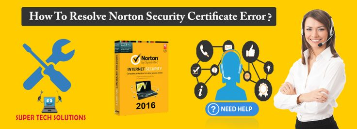 Facing Norton Antivirus problems: If you have Norton Internet Security problems. Read out these Handy Steps Resolve a Norton Security Certificate Error. #Norton #NortonAntivirus #NortonSupport