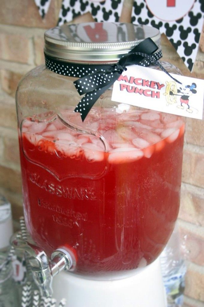 Vintage Mickey Mouse Party with Lots of Great Ideas via Kara's Party Ideas   KarasPartyIdeas.com #MickeyMouseParty #PartyIdeas #Supplies (17)
