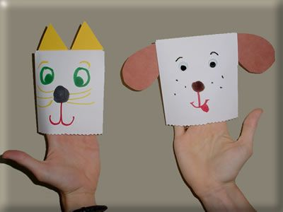 I Have A Cat - Envelope Puppet
