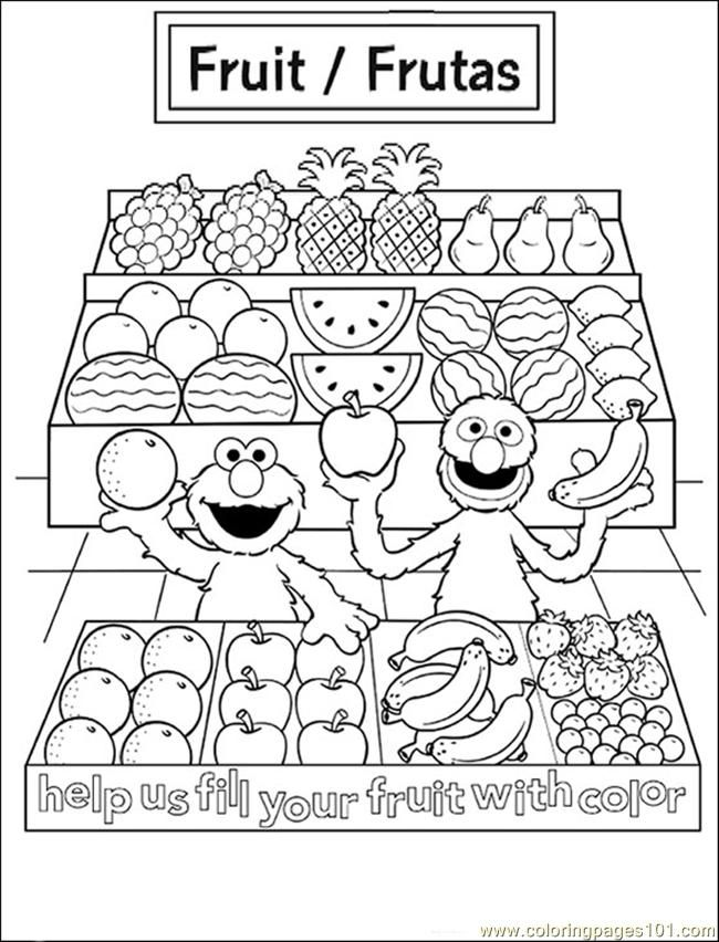 48 best images about fruit and veggie coloring pages on pinterest