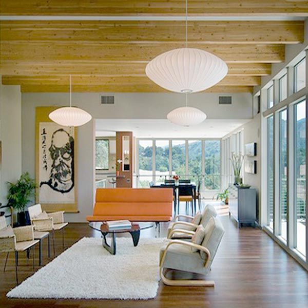 201 best images about mid century elements on pinterest midcentury modern - Suspension georges nelson ...
