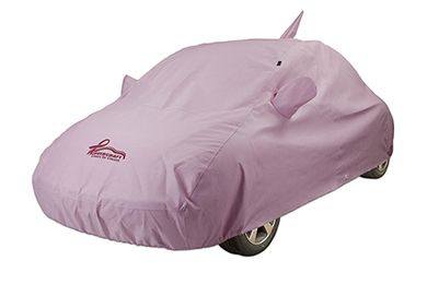 Covercraft Pink Noah Car Cover - Pink Ribbon Breast Cancer Merchandise for a Cause - Free Shipping & Best Price on CoverCraft Pink Car Covers