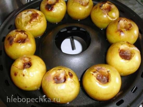 Печеные яблоки (чудо сковорода гриль-газ D-512) Печеные яблоки (чудо сковорода гриль-газ D-512)
