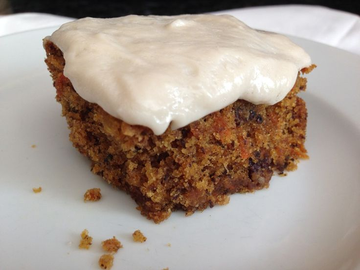 free dairy free carrot cake recipe. With a cream cheese frosting ...