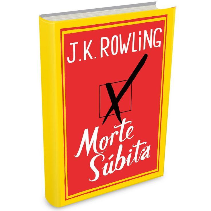 Morte Súbita, de J. K. Rowling: depois de Harry Potter, amargura #livro #livros #literatura #books #literature #jkrowling