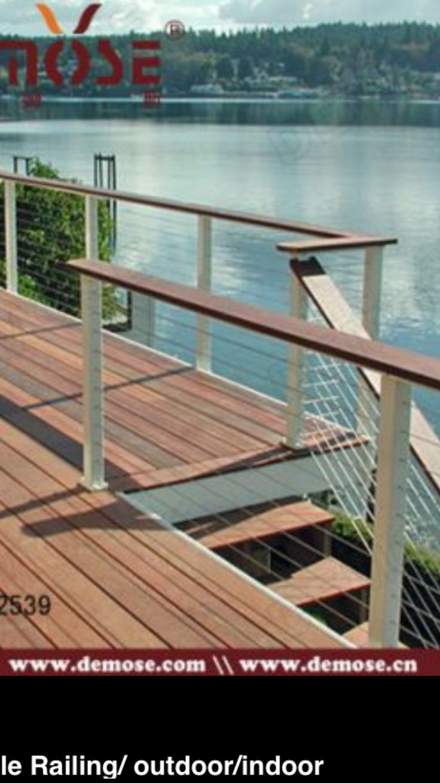 11 best Cable railing images on Pinterest   Cable railing, Deck ...