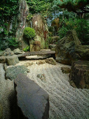 石庭、大仙院