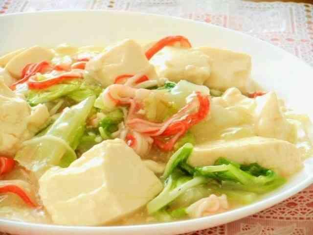 カニカマIN白菜と豆腐のトロトロ旨煮の画像