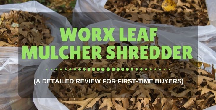 Worx Leaf Mulcher Shredder A Detailed Review For First Time