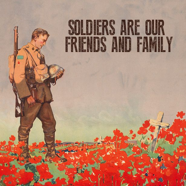 """In Flanders Field"" was written by Lieutenant-Colonel John McCrae, who was inspired to write the poem after losing a friend and fellow soldier, Lieutenant Alexis Helmer, to the Second Battle of Ypres. #RemembranceDay"