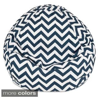 Majestic Home Goods Chevron Small Classic Bean Bag | Overstock.com Shopping - The Best Deals on Bean & Lounge Bags