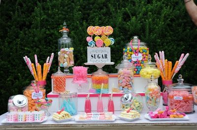 dessert table layout