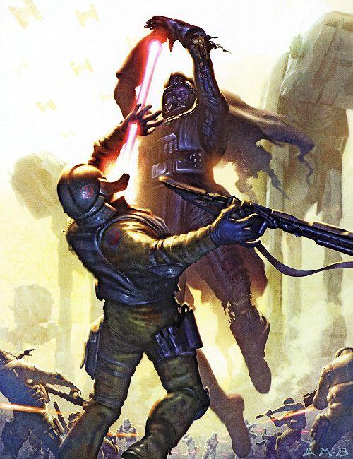 Star Wars - Darth Vader by Aaron McBride *