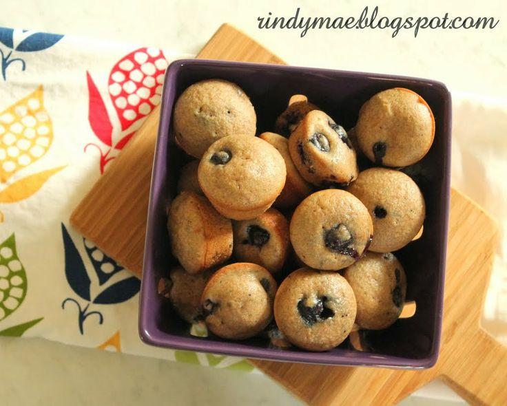 Miners' Mini Muffins aka Mini Blueberry Muffins