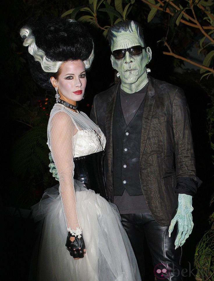 Maquillaje de la novia de Frankenstein para Halloween 2011