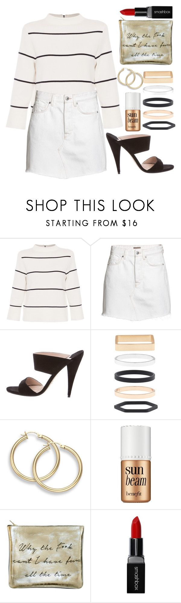 """Relax Mules"" by melisafash on Polyvore featuring L.K.Bennett, Miu Miu, Accessorize, Benefit, Sarah Baily and Smashbox"