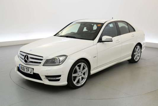 Used 2011 (61 reg) White Mercedes-Benz C Class C220 CDI BlueEFFICIENCY Sport Edition 125 4dr - SAT NAV - HALF LEATHER for sale on RAC Cars