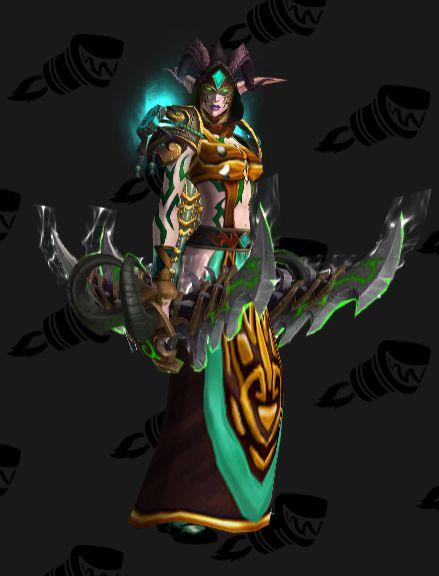 Demon Hunter Artifact Transmog Set Legion #8 WoW by BigDamnCompletionist