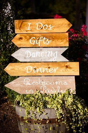 boda r stica se ales de madera indicadores de madera detallesboda decoracionbodas www. Black Bedroom Furniture Sets. Home Design Ideas