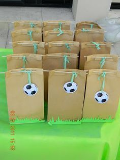 cumpleaños on Pinterest | Futbol, Soccer Party and Oreo Pops