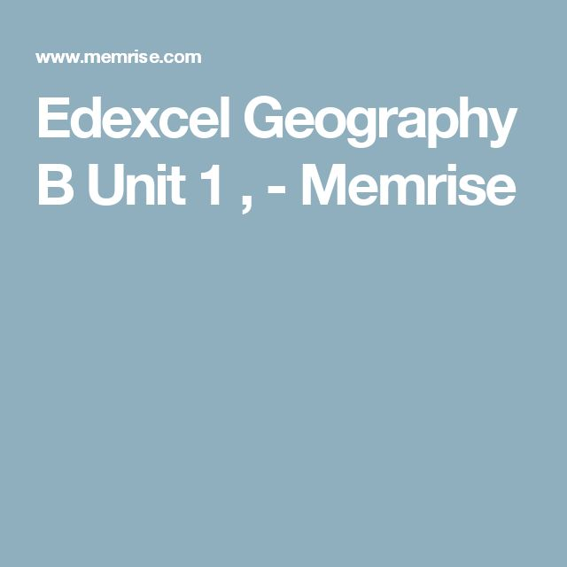 14 best graduate school search images on pinterest graduate school edexcel geography b unit 1 memrise malvernweather Choice Image