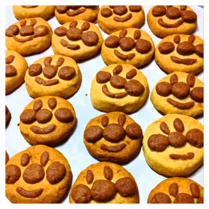 """""""Anpanman"""" cookies☆"""