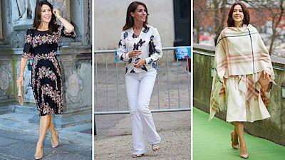 Členka královské rodiny se nebojí potisků, vzorů ani ležérní elegance