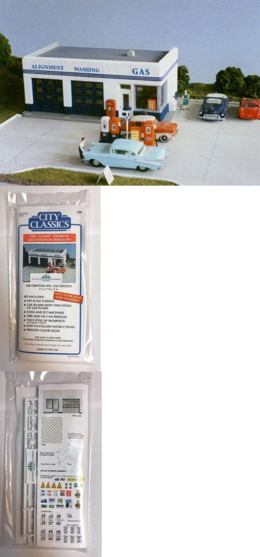 NIB City Classics #108 HO Scale Service Station Kit Crafton Ave