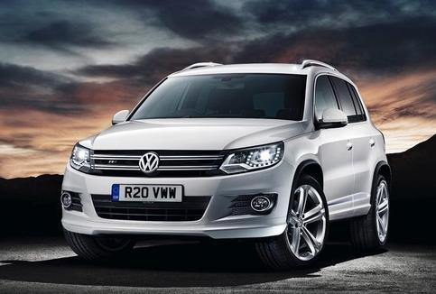 Volkswagen Tiguan R-Line Returns