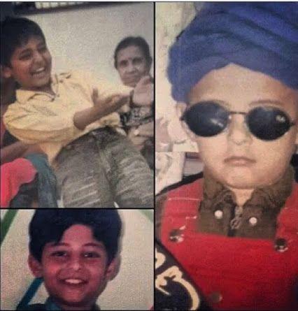 Ohhh my god....darshan...so cute in childhood :)))
